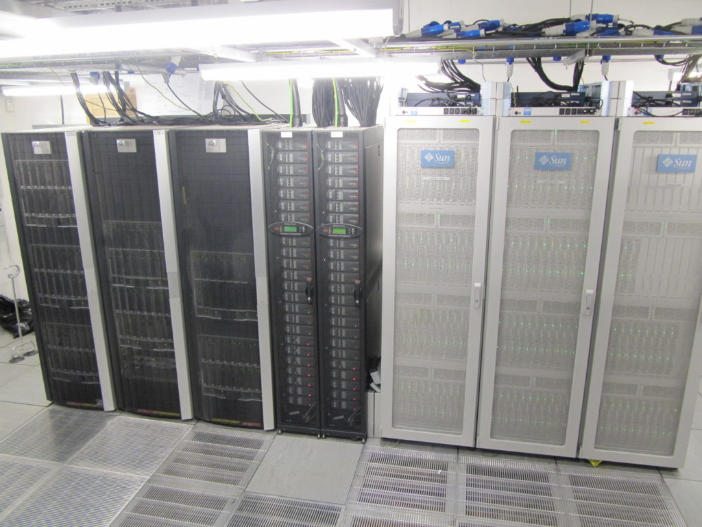 ARC1 and DiRAC compute racks (2009-2017)